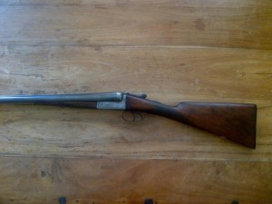 12 bore Hardy non ejector