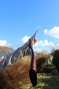 Cross-over shotguns