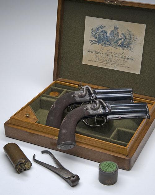 16th Century flintlock pistols