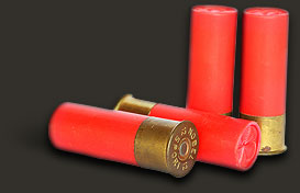 Shotgun cartridges and shooting accessories