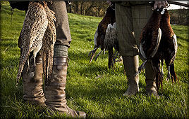 Game shooting and deer stalking events in Northumberland and the Scottish Borders