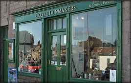 Castle Gunmakers, Norham, Northumberland