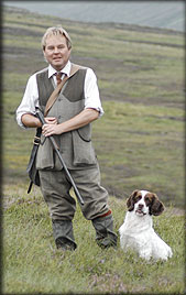 Ian Hendy; shooting tuition and fieldsports events