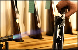 Barrel blacking; get the perfect finish for your shotgun using Castle Gunmakers expertise